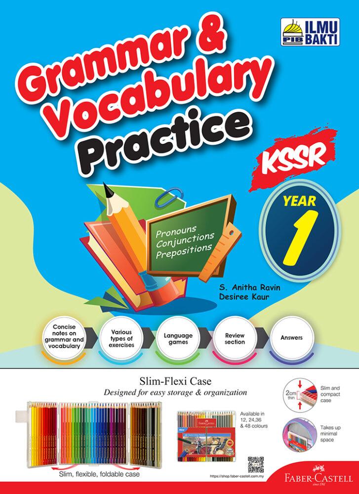 Grammar & Vocabulary Practice Year 1-6