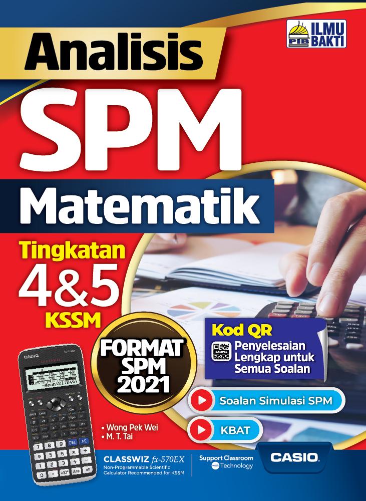 Analisis SPM Matematik Tingkatan 4&5 KSSM