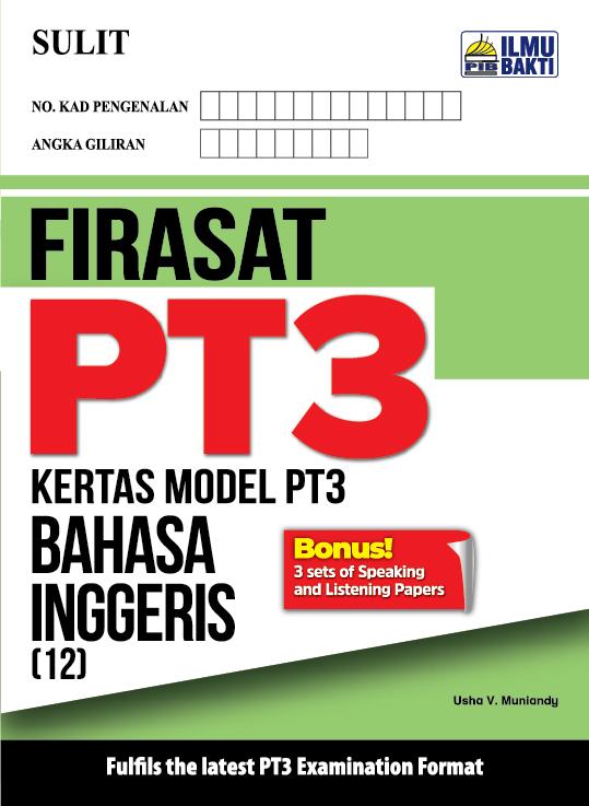 FIRASAT PT3 – Kertas Model PT3 Bahasa Inggeris