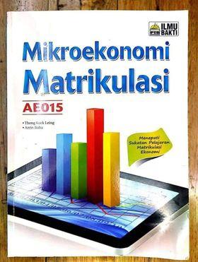 Mikroekonomi Matrikulasi AE015