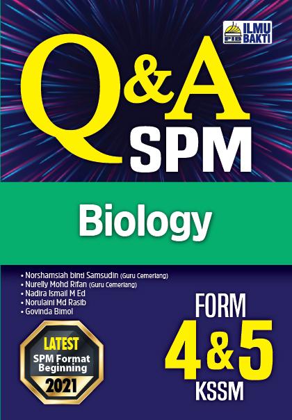 Q&A SPM Biology Form 4&5 KSSM