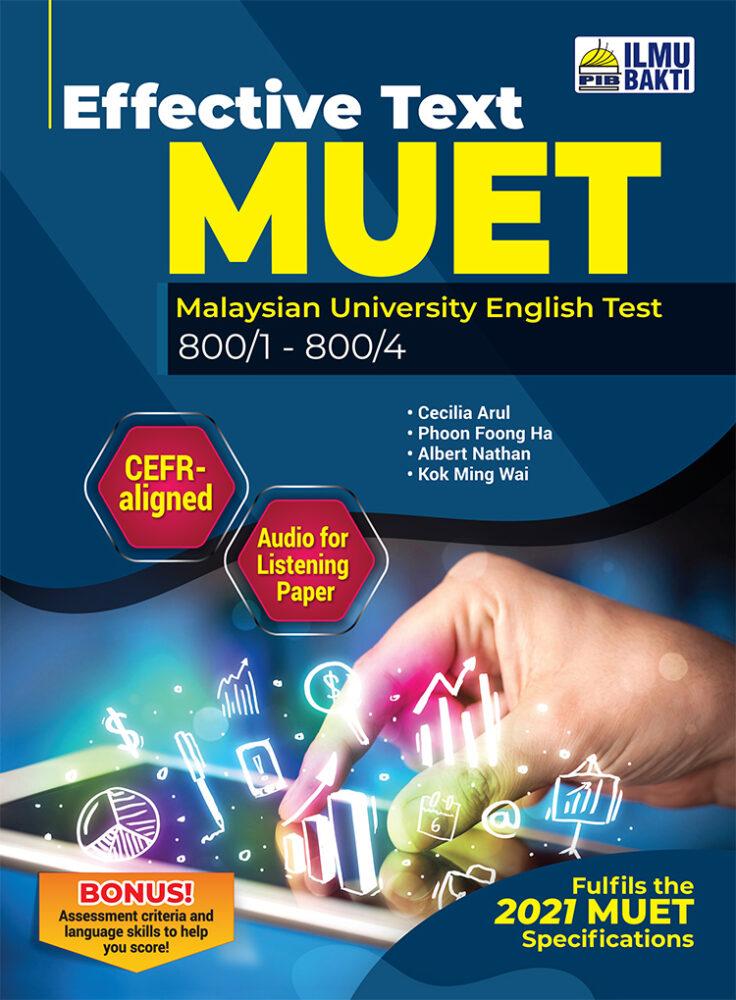 Effective Text MUET (800/1 – 8004)
