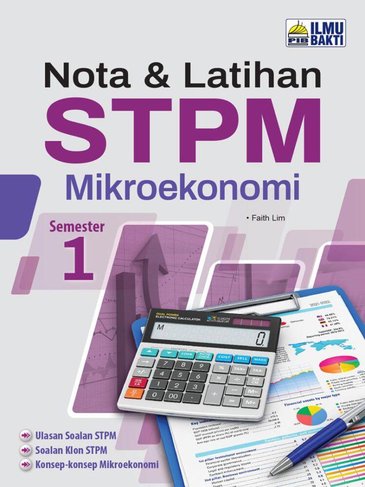 Nota & Latihan STPM Mikroekonomi Semester 1
